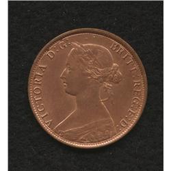 1861 Nova Scotia One Cent