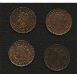 Lot of 4 One Cents