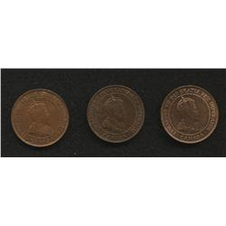 Lot of 3 One Cents