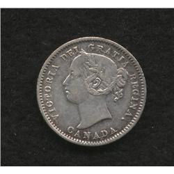1871 H Ten Cent