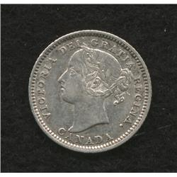 1882 H Ten Cent