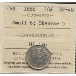 1886 Ten Cent
