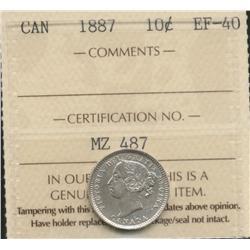 1887 Ten Cent