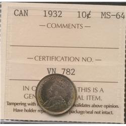 1932 Ten Cent