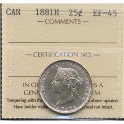 1881 Twenty Five Cent