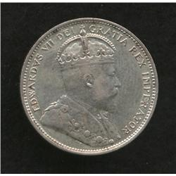 1902 H Twenty Five Cent