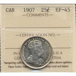 1907 Twenty Five Cent