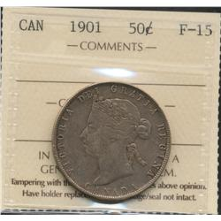 1901 Fifty Cent