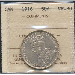1916 Fifty Cent