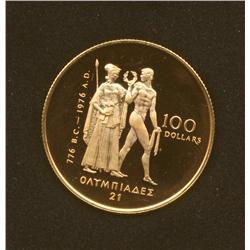 1976 $100 Gold Coin