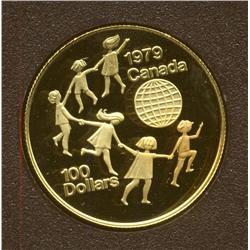 1979 $100 Gold Coin