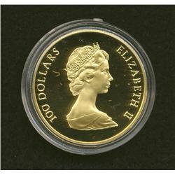 1982 $100 Gold Coin