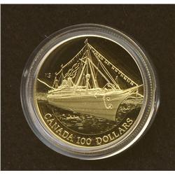 1991 $100 Gold Coin