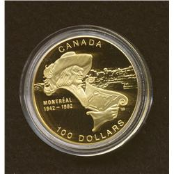 1992 $100 Gold Coin