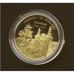 1995 $100 Gold Coin