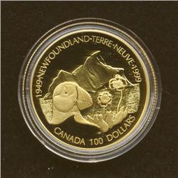 1999 $100 Gold Coin