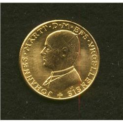1978 Andorra Gold Papal Gold Medallion