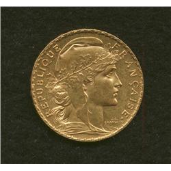 1904 France 20 Francs Gold