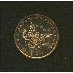 1976 Bicentennial Gold Medallion