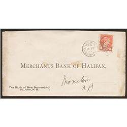 1893 Bank of New Brunswick Cover