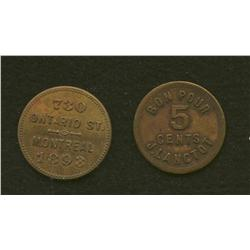 Lot of Two J.Lanclot Tokens