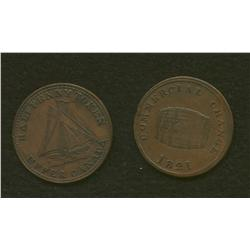 Lot of Two Commercial Change 1820 & 1821