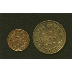 Lot of Two I Daze, Cranston Tokens
