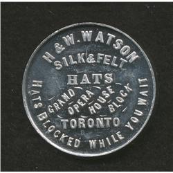 H & W Watson , Hat Check
