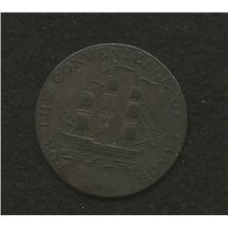 Nova Scotia 1814 Half penny
