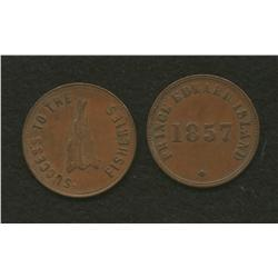 Lot of Two Speed the Plough & 1857 Prince Edward Island