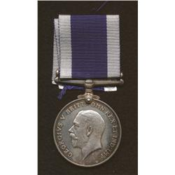Royal Navy Long Service and Good Conduct Medal (Geo. V Coinage Bust)