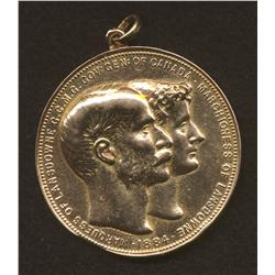 1884 Governor General of Canada Gold Medal