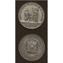 Pair University of Ottawa Medals