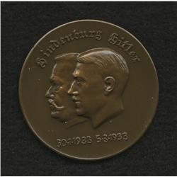 Hitler - Hindenburg Medal