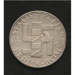 Hitler - Mussolini Medal