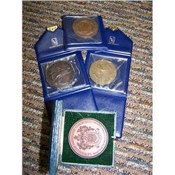 Lot of Four European Historical Medals