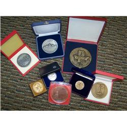 Lot of 7 Eastern Block Country Medals