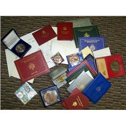 Huge lot of Vatican Sets and Religious Medals