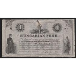 Hungarian Fund Certificate 1852 EF