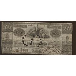 Benjamin Smith 10 shillings VF