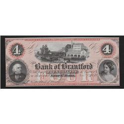 1859 Bank of Brantford Remainder