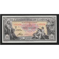1935 Canadian Bank of Commerce $20