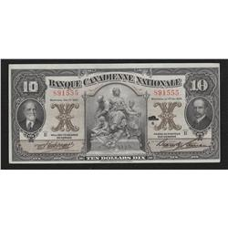 1929 Banque Canadienne Nationale $10