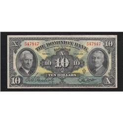 1938 Dominion Bank $10