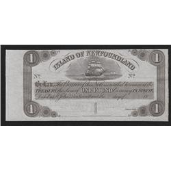 Newfoundland Government Treasury Note