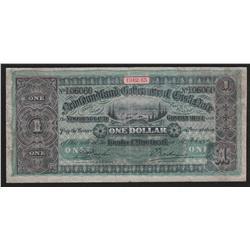 1912-13 Newfoundland One Dollar Cash Note