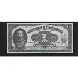 1920 Government of Newfoundland $1