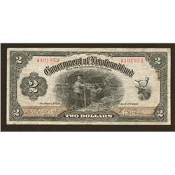 1920 Government of Newfoundland $2
