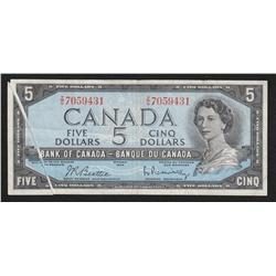 1954 Bank of Canada $5