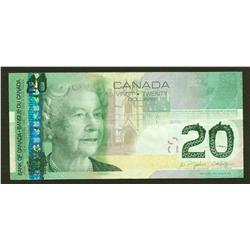 2004 Bank of Canada $20 Printing Error